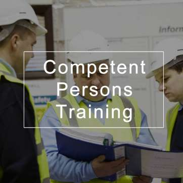 Competent Persons Training